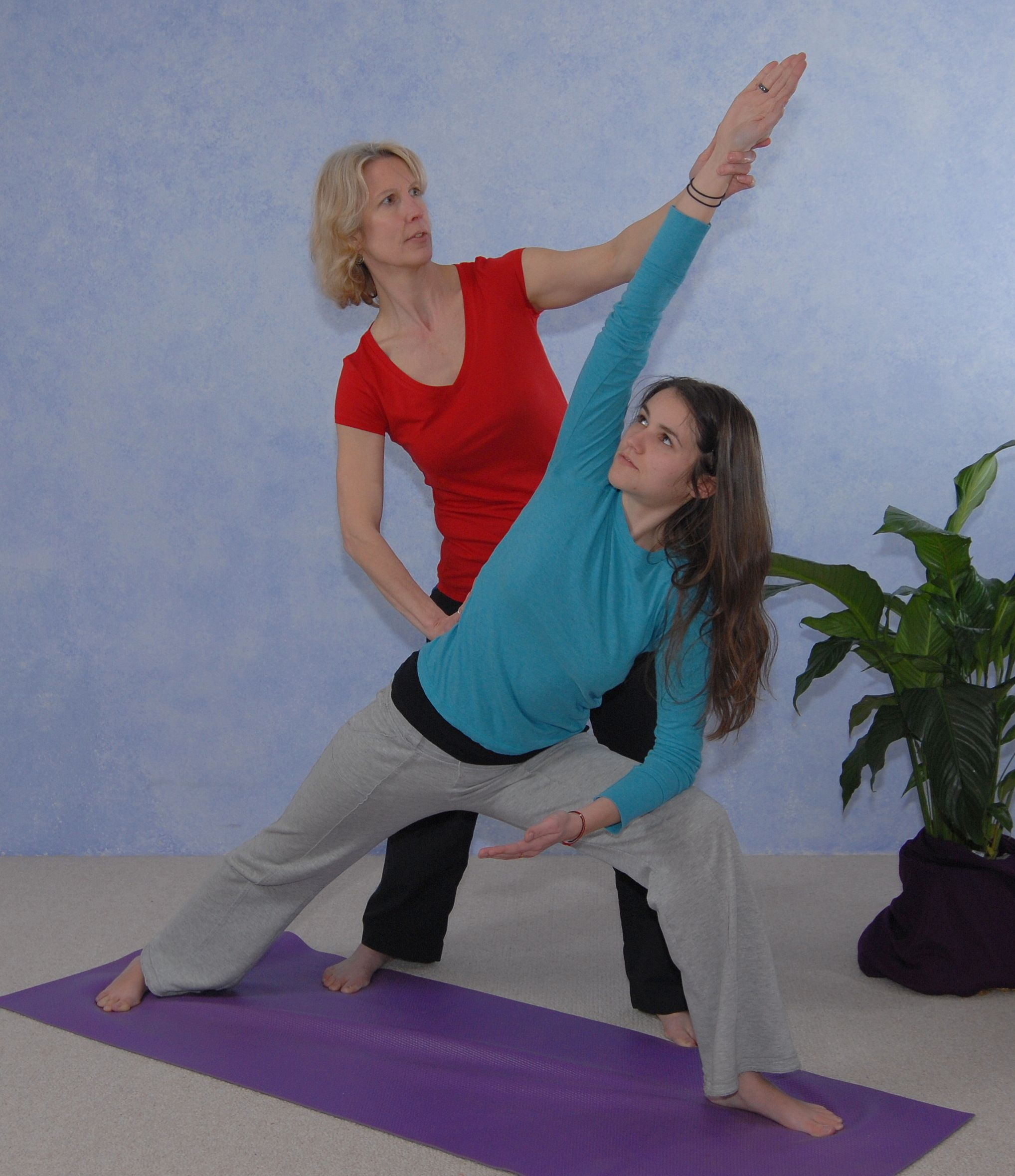 yoga with Laurie