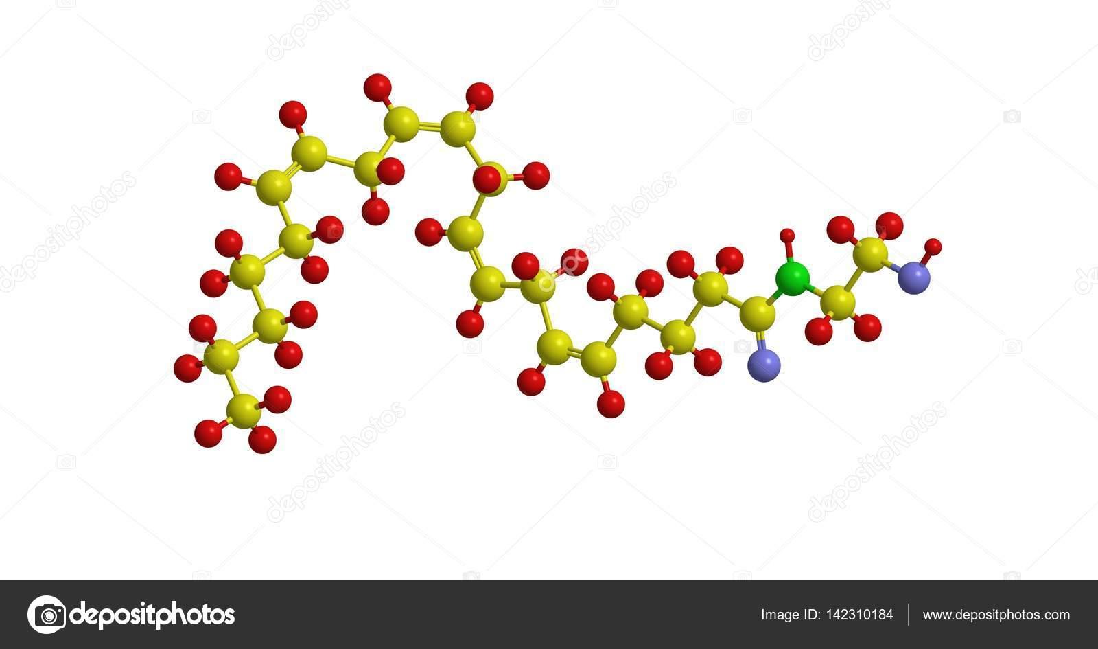 Anandamide molecule